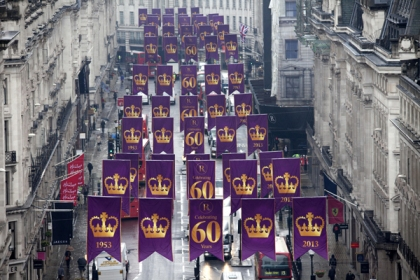 Regent-Street-turns-purple-to-celebrate-The-Queen's-Coronation-