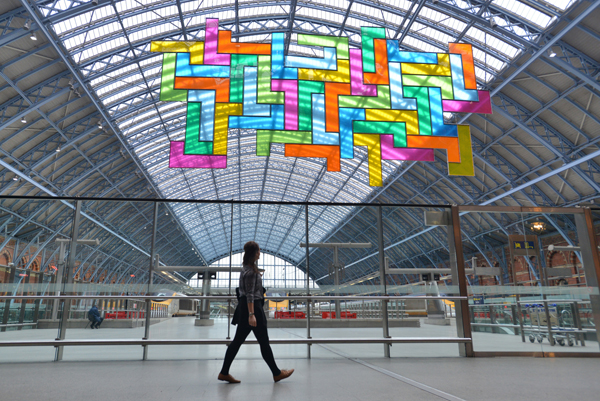 Chromolocomotion,-Terrace-Wires-art-programme-at-St-Pancras-International-1