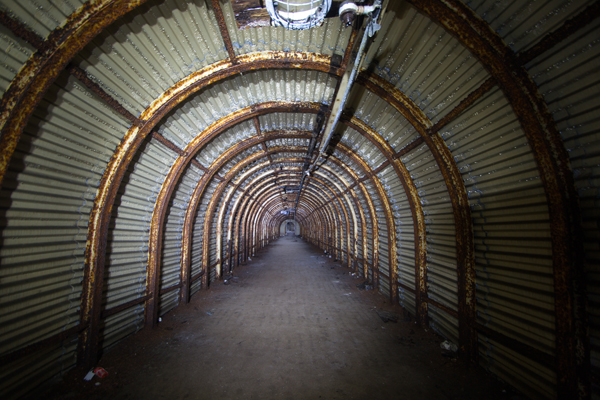 Fan-Bay-Deep-Shelter,-main-tunnel---credit-National-Trust,Barry-Stewart