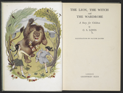 title-page-1950-cs-lewis-the-lion-the-witch-and-the-wardrobe-copyright-cs-lewis-pte