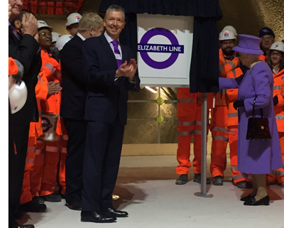 Queen-at-Crossrail