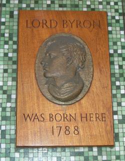 Byron-plaque