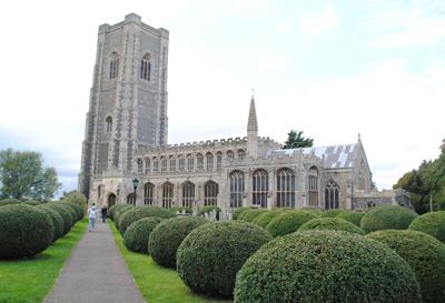 Lavenham-church