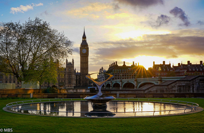 London-sunset