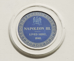 Napoleon-III-blue-plaque