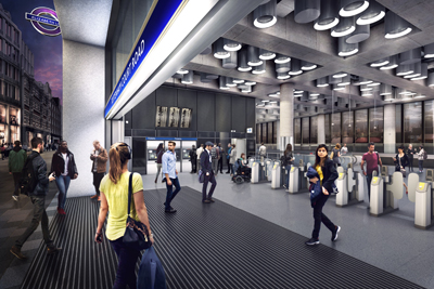 Tottenham-Court-Road-station---architect_s-impression-of-station-entrance-at-Dean-Street_236015