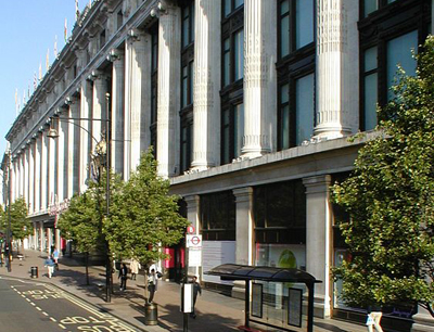e7f9eea464ce6 Eight historic department stores in London…1. Selfridges ...