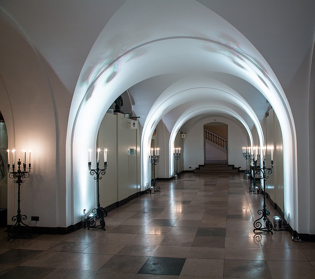 10 Subterranean Sites In London 3 The Banqueting House Undercroft