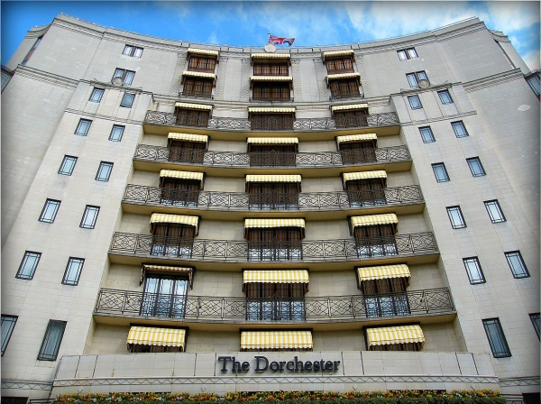 Image result for dorchester hotel frontage